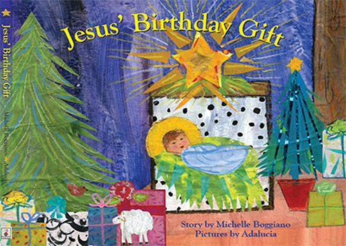 Jesus birthday gift book image